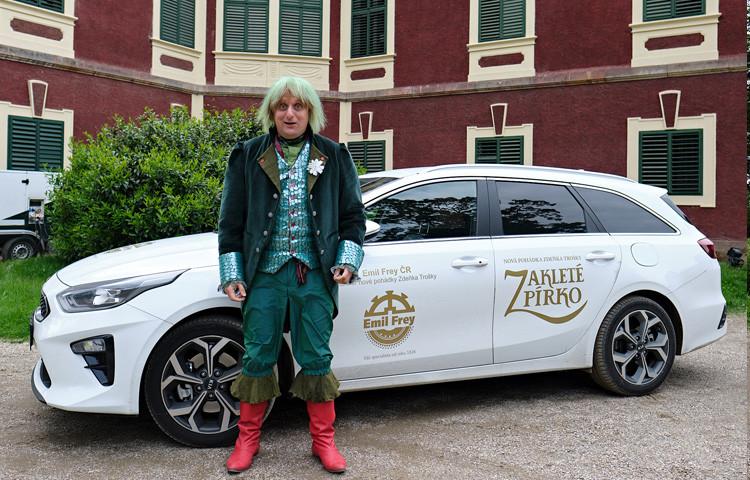 Vozy od Emila Freye se v pohádkovém světě osvědčily skvěle