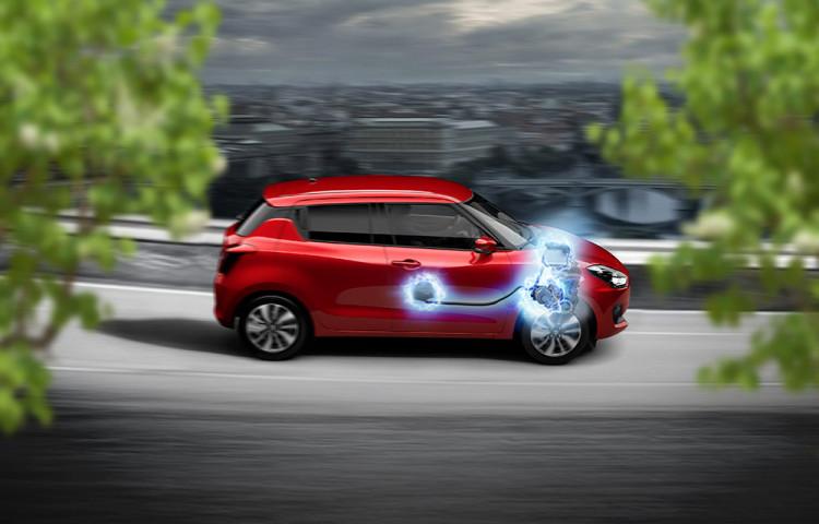 Suzuki vstupuje do hybridní éry