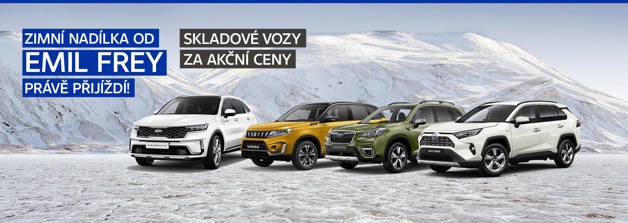 Emil Frey ČR: Emil Frey, prodejce, Subaru, Toyota, Kia, Suzuki