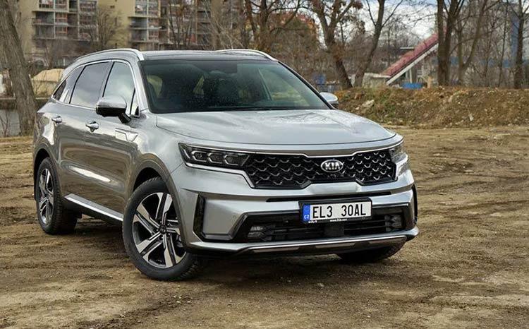 Výroba sedmimístného SUV Kia Sorento Plug-in Hybrid zahájena, na elekřinu ujede až 57 km