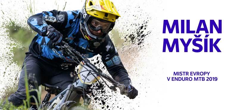 Milan Myšík - mistr Evropy v enduro MTB 2019
