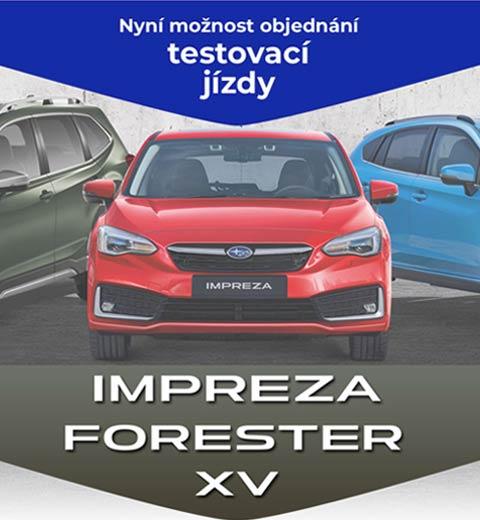 SUBARU e-BOXER Emil Frey ČR